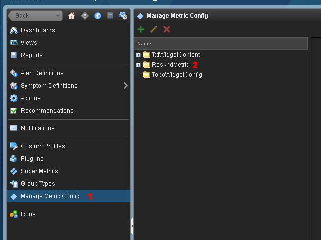 Add metric XML to vROps