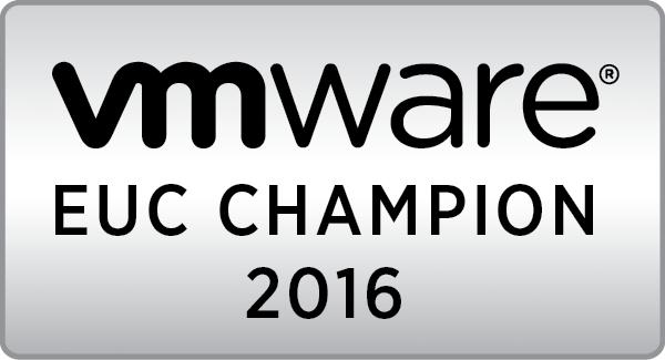 VMware EUC Champion 2016