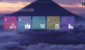 Provisior's main UI in the latest version (F release)