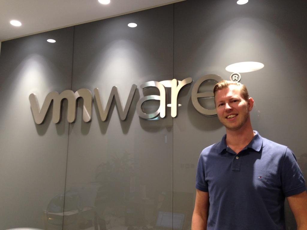 Me at the VMware UAE HQ