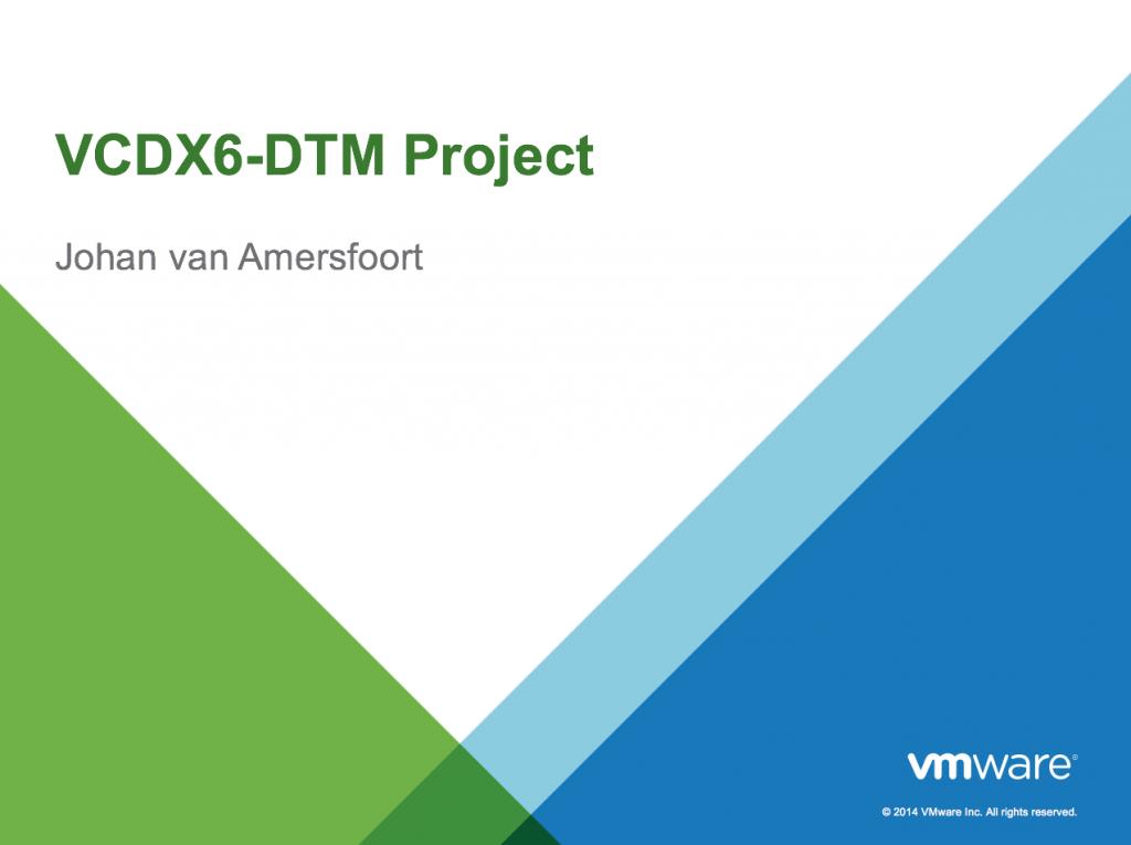 VCDX Slide