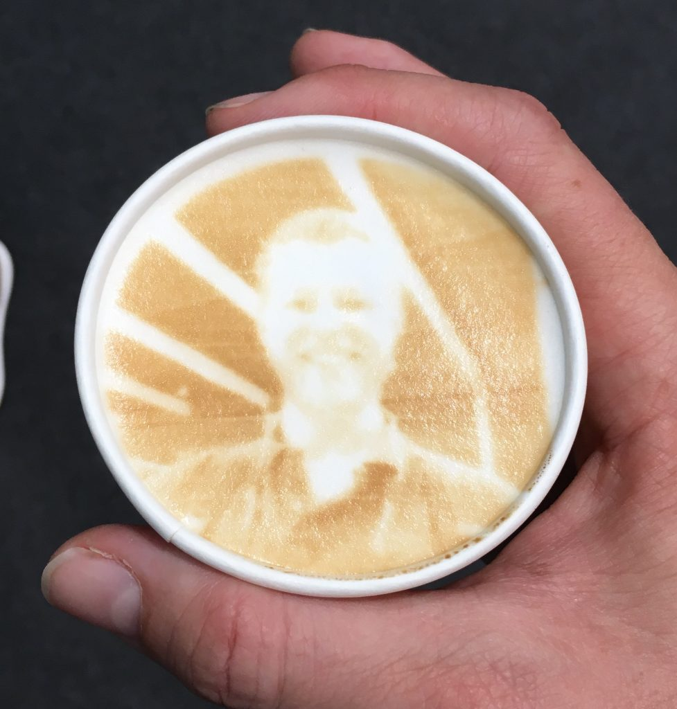 VMworld 2017 - Latte Art