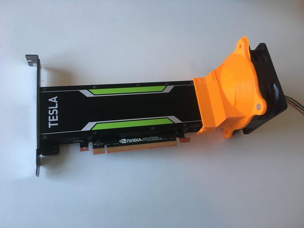 How to avoid an NVIDIA Tesla P4 to overheat - vHojan nl